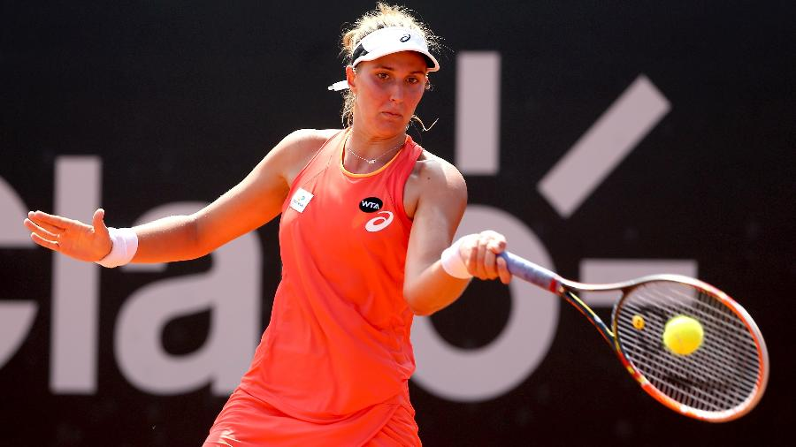 Bia Haddad está na 100ª posição do ranking da WTA - Matthew Stockman/Getty Images