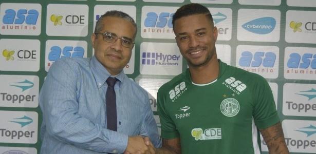 Rafael Silva foi emprestado pelo Cruzeiro até o fim da Série B