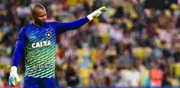 Jefferson perdeu espaço na seleção e no Botafogo e vive nova realidade na carreira - Thiago Ribeiro/AGIF