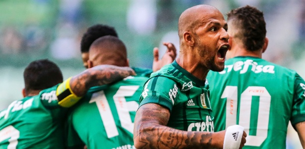 Felipe Melo vai ser titular pela segunda vez consecutiva no Palmeiras