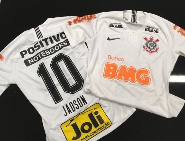 Corinthians terá novidades na camisa neste domingo: as marcas BMG, Help! e Joli  - Divulgação/Corinthians