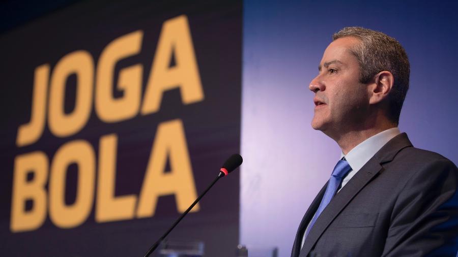 Rogério Caboclo, presidente da CBF, quer que os Campeonatos Estaduais terminem. Mas e o Brasileiro? - Lucas Figueiredo/CBF