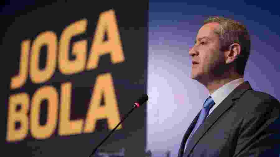 Presidente Rogério Caboclo conduz as negociações sobre o calendário da CBF após a pandemia - Divulgação/CBF
