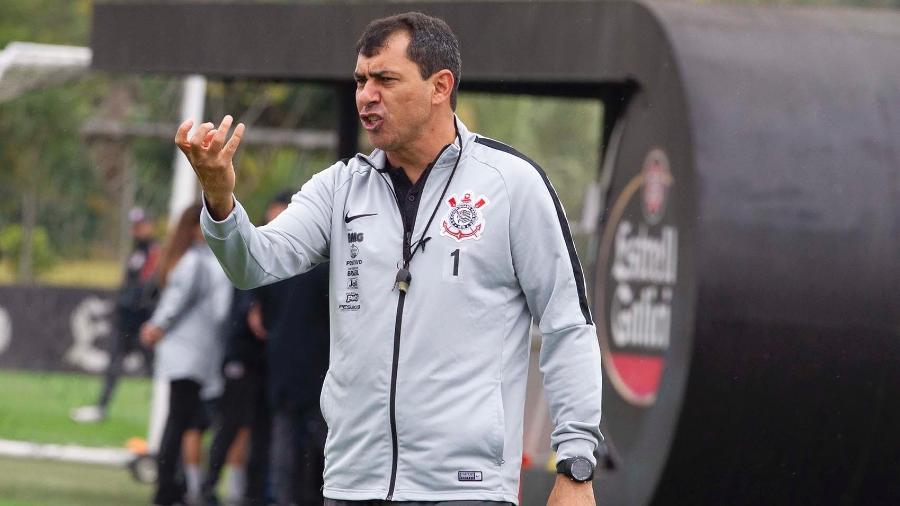 Fábio Carille, técnico do Corinthians, interessa ao Tianjin TEDA FC, da China - Daniel Augusto Jr./Agência Corinthians