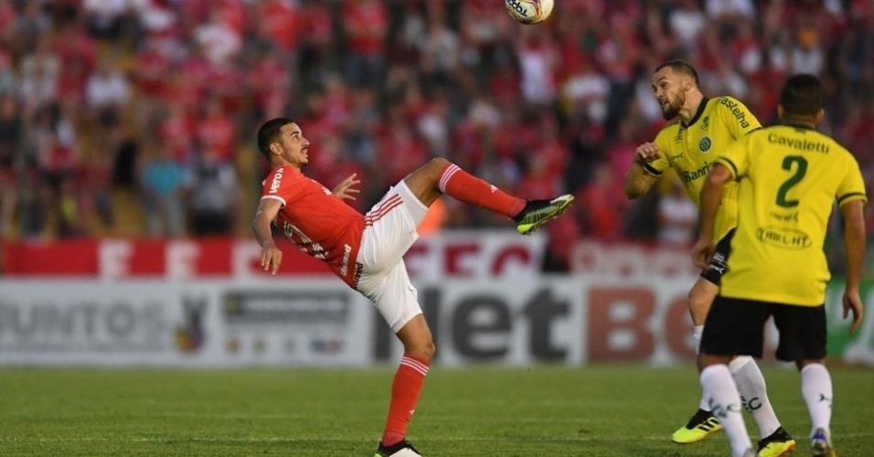 Inter enfrenta Ypiranga em Erechim pelo Campeonato Gaúcho