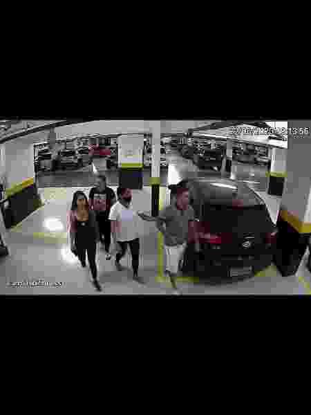Vídeos analisados pela PM não indicam agressão de Dudu - Reprodução