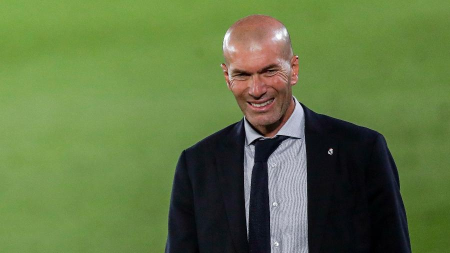 Zinedine Zidane elogiou Mbappé e Haaland - David S. Bustamante/Soccrates/Getty Images