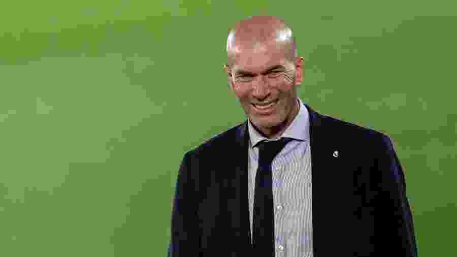 O Real Madrid, de Zinedine Zidane, enfrenta o Manchester City, amanhã - David S. Bustamante/Soccrates/Getty Images