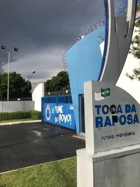 Fachada da Toca da Raposa II, centro de treinamento do Cruzeiro - Guilherme Piu