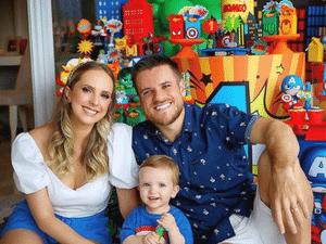 Ramiro e família  - Reprodução/Instagram  - Reprodução/Instagram