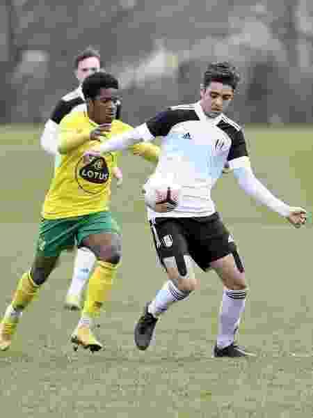 Matthew Dibley-Dias, jogador das categorias de base do Fulham - Divulgação - Divulgação