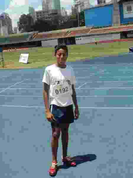 Lucas Vilar, do atletismo - Arquivo pessoal - Arquivo pessoal