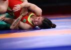 Luta olímpica: Búlgara perde na semi e brasileira não tem chance de medalha