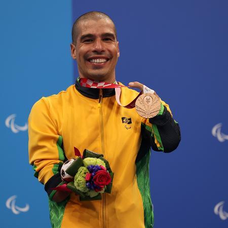 Daniel Dias conquista bronze em Tóquio, sua 25ª medalha  - Naomi Baker/Getty Images