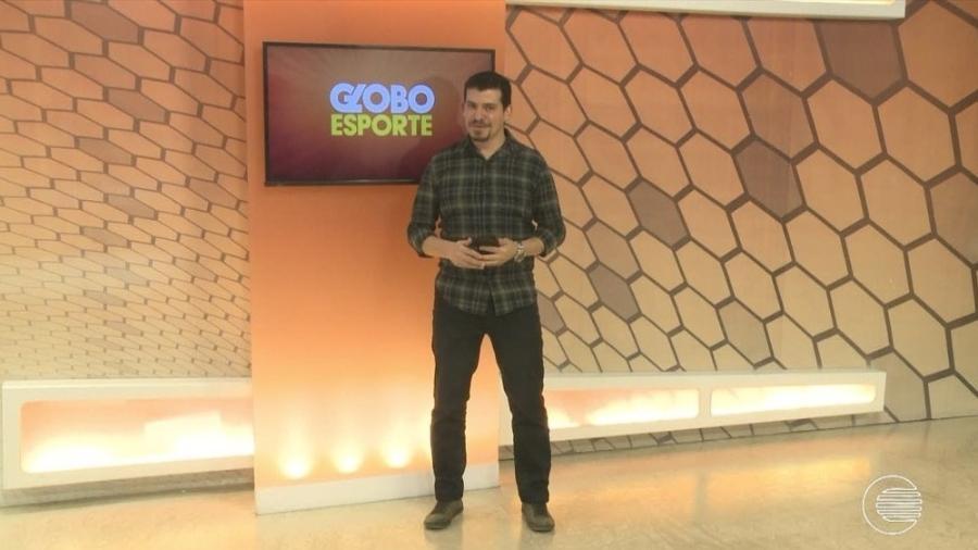 Flávio Meireles, apresentador do Globo Esporte, é o novo reforço do AABB do Piauí - Transmissão