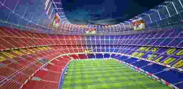 Reforma tornará Camp Nou arena verde e capaz de receber 105 mil torcedores  - Reprodução - Reprodução