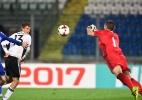 """Müller corneta futebol de San Marino e é rebatido: """"mesmo assim não marcou"""" - Vincenzo Pinto/AFP Photo"""
