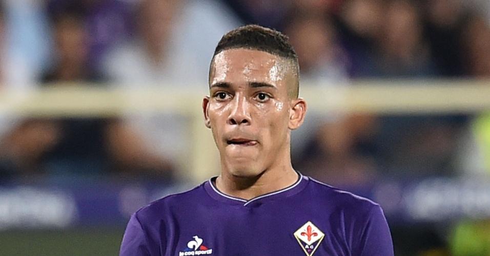 Gilberto em ação pela Fiorentina