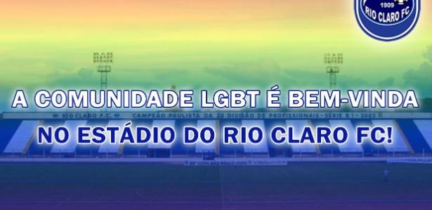 Rio Claro faz campanha nas redes sociais contra a homofobia