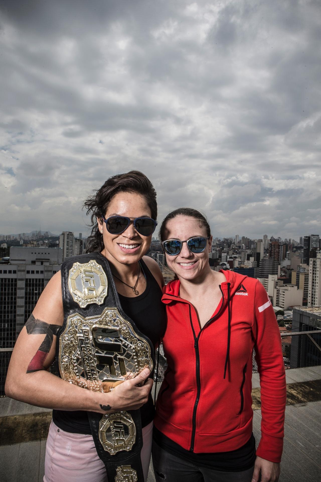 Especial Amanda Nunes - Amanda Nunes fala com o UOL Esporte