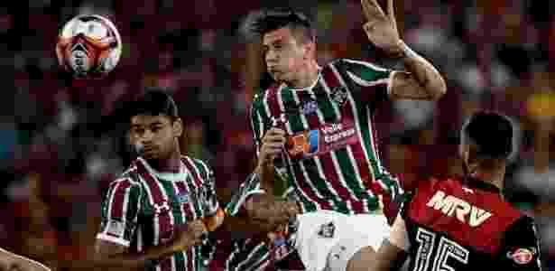 Ibañez se destacou no Fluminense e está com negociação encaminhada para o Atalanta - Marcello Dias/Futura Press/Estadão Conteúdo
