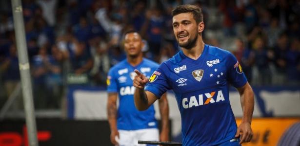 Giorgian De Arrascaeta é um dos artilheiros do Cruzeiro na temporada - Vinnicius Silva/Cruzeiro