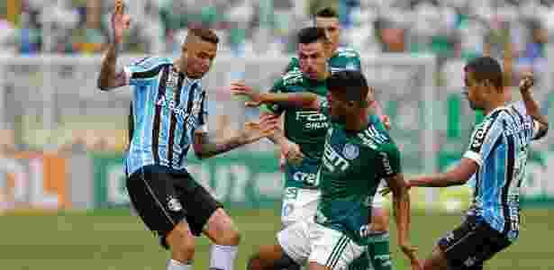 Luan em Palmeiras x Grêmio - Daniel Vorley/AGIF - Daniel Vorley/AGIF