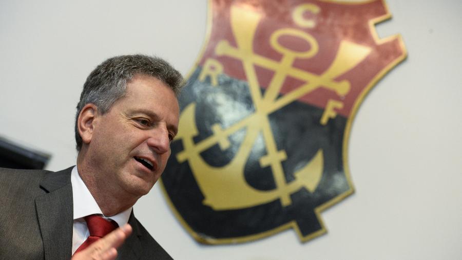 Rodolfo Landim, presidente do Flamengo - fotoBR/divulgação/Flamengo