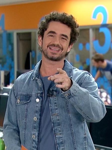 Felipe Andreoli, apresentador do Globo Esporte - Reprodução/TV Globo