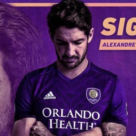 Alexandre Pato é anunciado pelo Orlando City - Divulgação