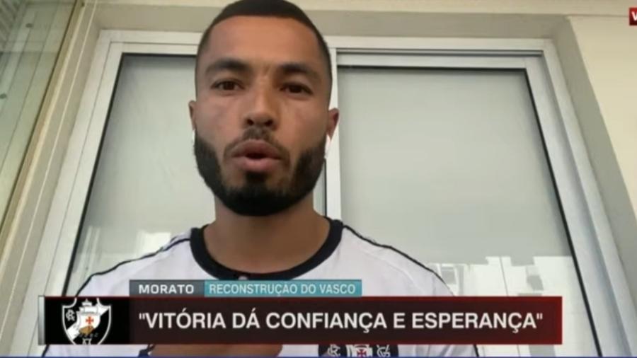 Morato explica comemoração inspirada em Edmundo - Reprodução/ESPN