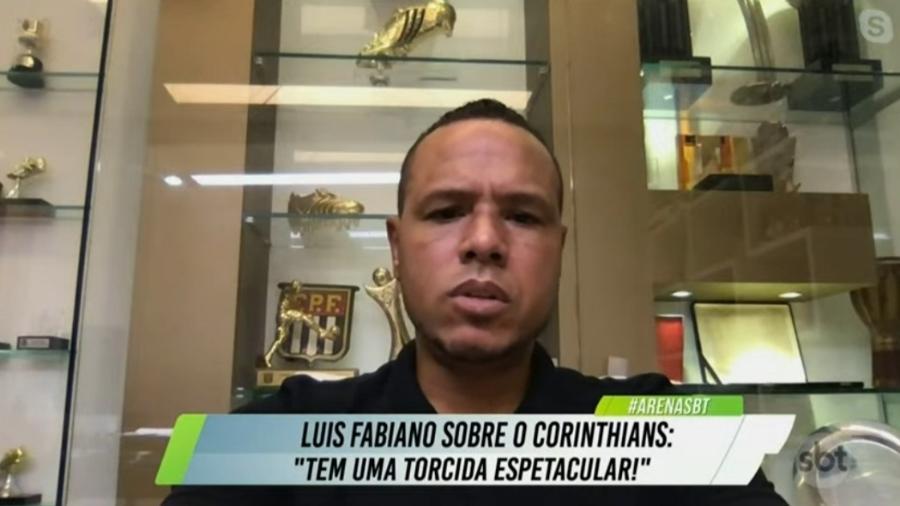 Luis Fabiano não esconde desejo de trabalhar no São Paulo - Reprodução/SBT