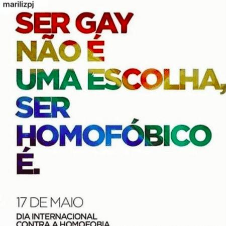 Giba, do vôlei, faz postagem em Dia Internacional Contra a Homofobia - Instagram - Instagram