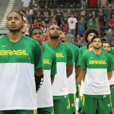 Seleção masculina de basquete vai ao Pré-Olímpico - Divulgação