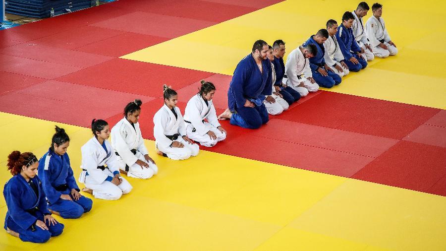 Seleção de judô do Brasil antes de Tóquio-2020 - Gaspar Nóbrega/COB