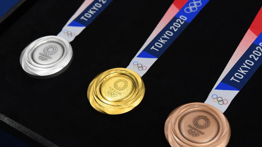 Medalhas dos jogos de Tóquio 2020 - Atsushi Tomura/Getty Images