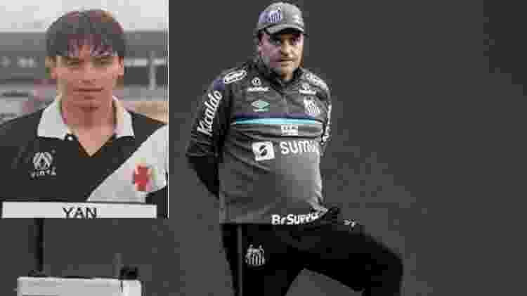Yan, revelação do Vasco, faz parte da comissão de Fernando Diniz - Reprodução / Ivan Storti/Santos FC - Reprodução / Ivan Storti/Santos FC