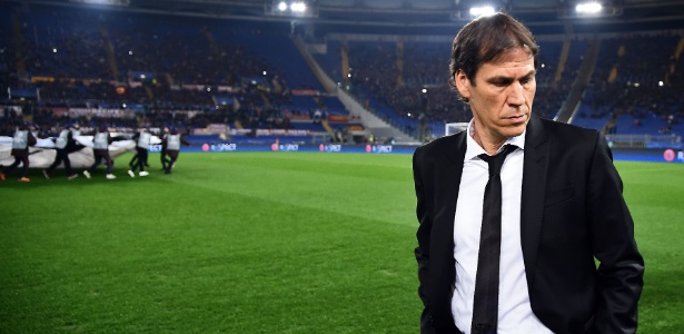 Rudi Garcia foi demitido da Roma - FILIPPO MONTEFORTE / AFP