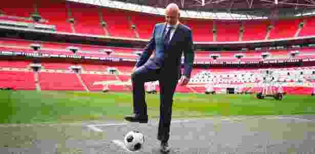 Gianni Infantino deixou o cargo para assumir presidência da Fifa - Clive Rose/Getty Images