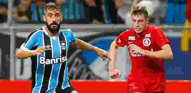 Grêmio deixou estilo de Roger para trás. Inter resgatou estratégia usada antes - LUCAS UEBEL/GREMIO FBPA