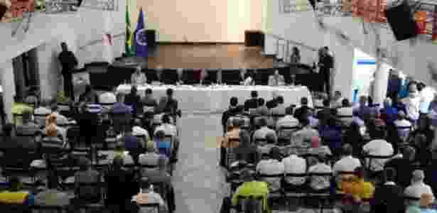 Assembleia Geral realizada na sede social do Cruzeiro no Barro Preto - Divulgação/Cruzeiro - Divulgação/Cruzeiro