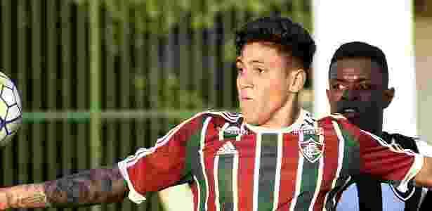 Fluminense sofreu com a falta de fornecimento de uniforme de jogo para categorias de base - Mailson Santana/Fluminense