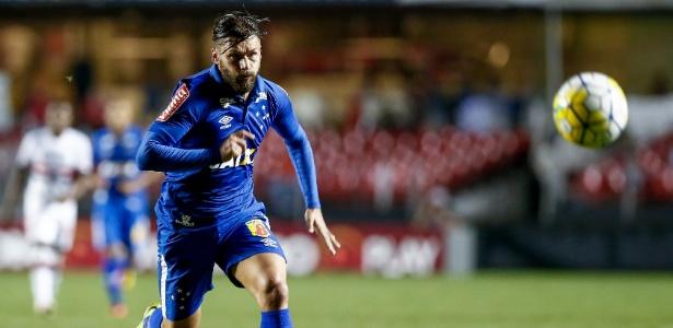 Rafael Sóbis é o artilheiro e principal atacante do Cruzeiro de Mano Menezes