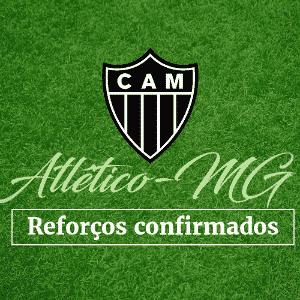Abre de Atlético-MG para o Álbum do Mercado da Bola - Arte/UOL
