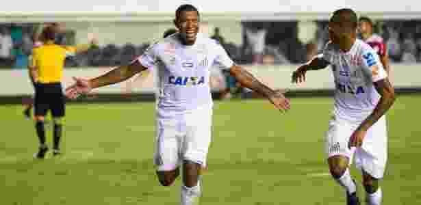 Rodrigão pelo Santos: atacante irá defender o Coritiba nesta temporada - FLAVIO HOPP/RAW IMAGE/ESTADÃO CONTEÚDO