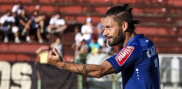 Atacante Rafael Sóbis, em partida do Cruzeiro