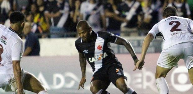 Manga fez um belo gol e deu assistência para outro contra o Fluminense - Paulo Fernandes / Flickr do Vasco