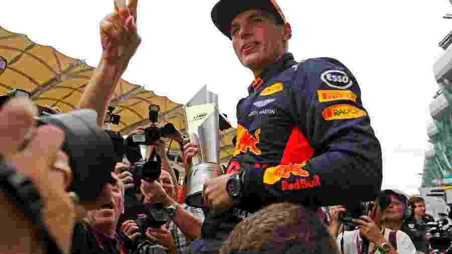 Max Verstappen levou a Red Bull à vitória na Malásia - REUTERS/Lai Seng Sin