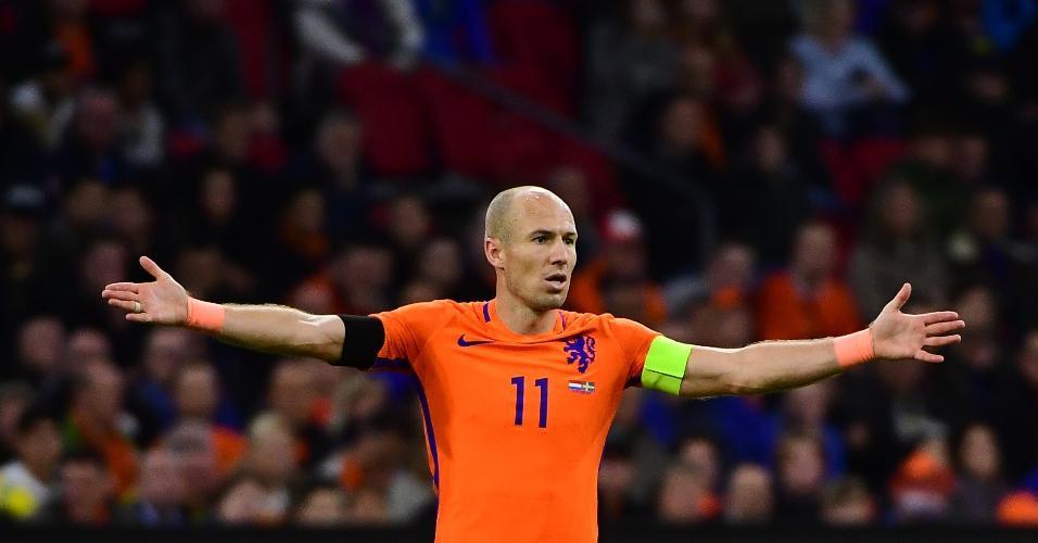 Robben - Holanda x Suécia