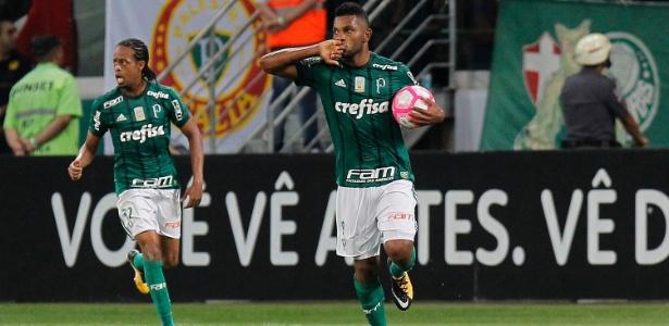 Borja atravessa boa fase no Palmeiras: são três gols nos últimos três jogos